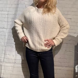 Line Knitwear NWT Cream Coloured Sweater Size S